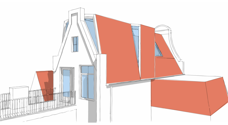 Slaapkamer twee slaapkamer appartement amsterdam : Loft Nieuwe Spiegelstraat u2013 studiopops